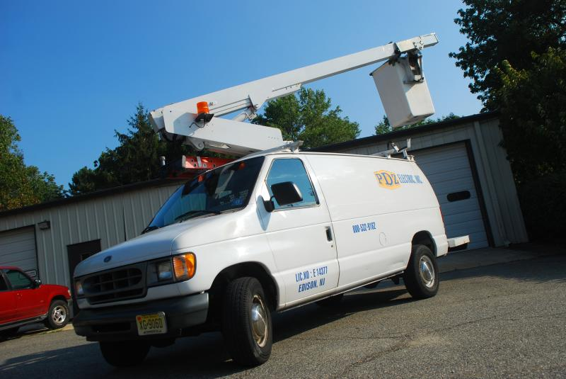 PDZ Electric Bucket Truck Service Data Installation
